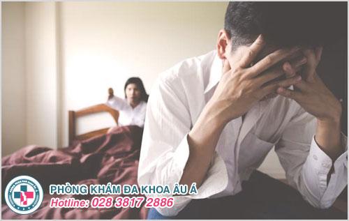 Nam giới thường cảm thấy lo âu, tự ti khi bị bệnh xuất tinh sớm