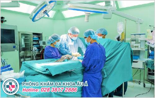 Phẫu thuật cắt dây thần kinh lưng dương vật