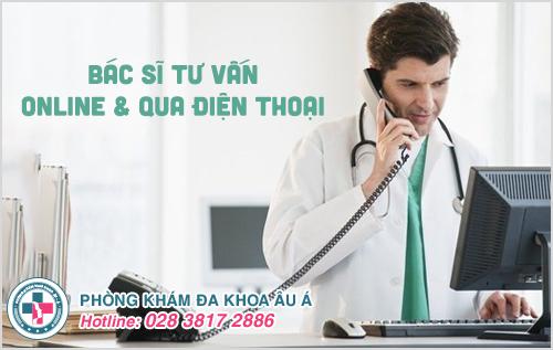 Bác sĩ tư vấn da liễu online và qua điện thoại miễn phí