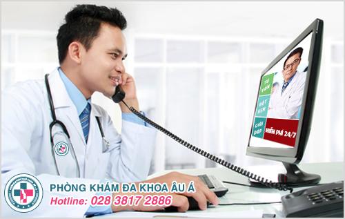 Bác sĩ tư vấn bệnh trĩ online và qua điện thoại miễn phí