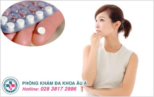 Bạn nên làm gì khi uống thuốc tránh thai khẩn cấp bị ra máu?