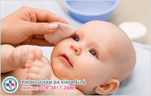 Bệnh chàm sữa ở trẻ sơ sinh : Nguyên nhân dấu hiệu cách chữa