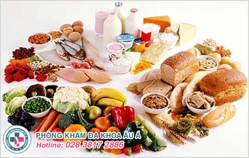Thực phẩm nên ăn khi bị tổ đỉa