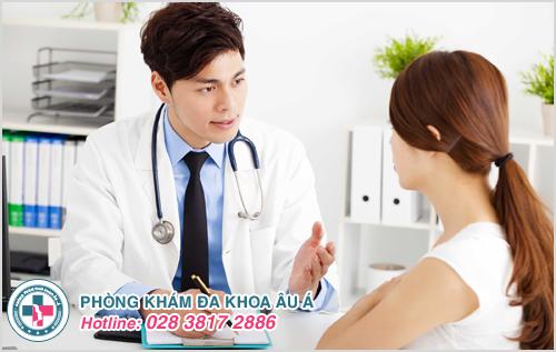 Thăm khám để được kiểm tra và áp dụng đúng phương pháp điều trị