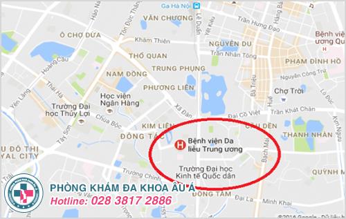 Chi phí khám chữa bệnh da liễu tại bệnh viện Da Liễu Hà Nội