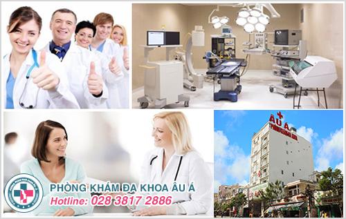 Đa khoa Âu Á - Địa chỉ khám chữa bệnh zona ở miệng an toàn, hiệu quả nhất hiện nay