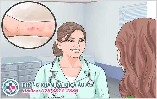 Bị bệnh viêm da tiếp xúc bao lâu thì khỏi?