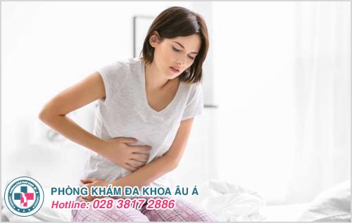 Bị đau hậu môn và bụng dưới sau khi quan hệ