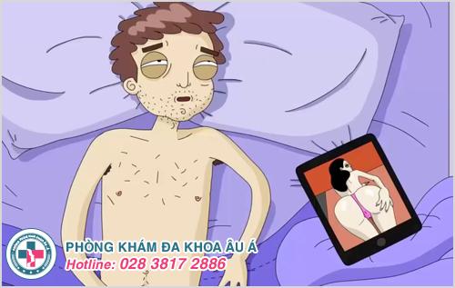 Bị xuất tinh sớm do thủ dâm quá độ