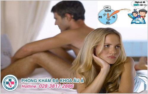 Bệnh xuất tinh sớm ở nam giới khiến ảnh hưởng đến cuộc yêu