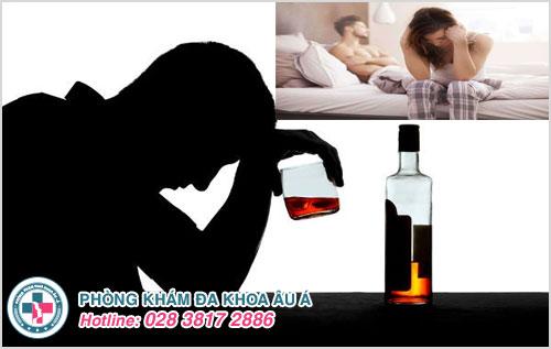 Bia rượu ảnh hưởng thế nào đến đời sống tình dục
