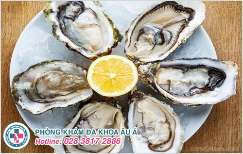 Nên ăn nhiều hàu biển sẽ giúp cải thiện tinh trùng và sinh lý nam giới hiệu quả