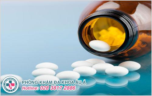 Điều trị đau tinh hoàn bằng thuốc