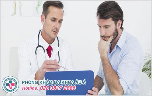 Thăm khám và điều trị bệnh xuất tinh sớm là cách giúp quan hệ lâu xuất tinh cho nam giới
