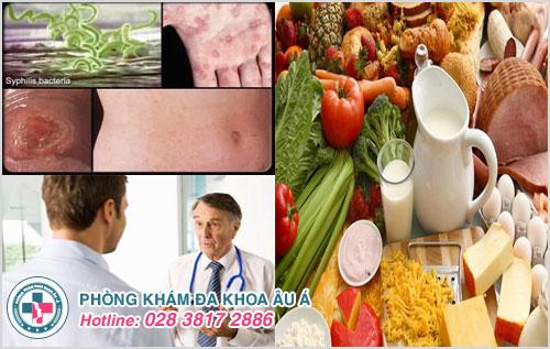 Chế độ dinh dưỡng cho người mắc bệnh giang mai