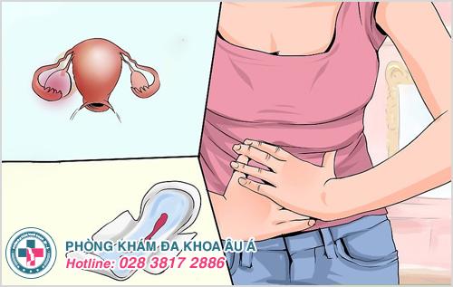 Dấu hiệu u nang buồng trứng trái như thế nào?