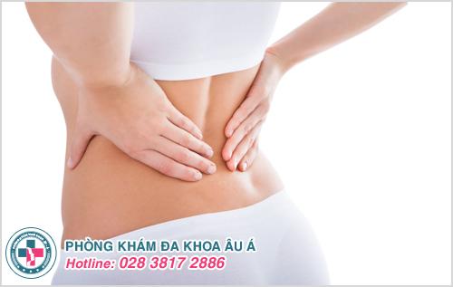 Đau bụng dưới bên trái hoặc phải kèm đau lưng là bị bệnh gì?