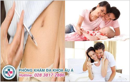 Sử dụng thuốc kích ứng cho trứng rụng, khả năng cao dễ mang thai