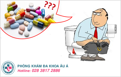 Đi ngoài ra máu tươi uống thuốc gì hiệu quả?