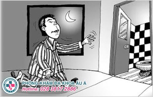 Đi tiểu nhiều lần trong đêm là biểu hiện bệnh gì?