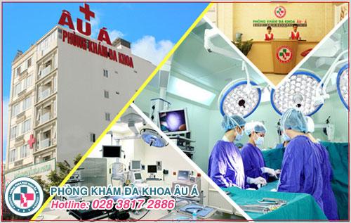 Phòng Khám Đa Khoa Âu Á là đại chỉ chữa bệnh viêm bao quy đầu ngoài giờ tốt nhất TP. HCM