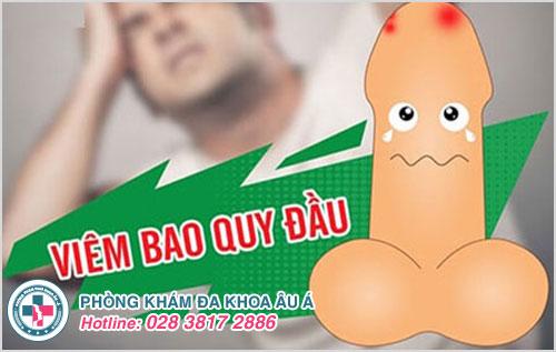 Viêm bao quy đầu là bệnh gây cho nam giới nhiều hậu quả khôn lường