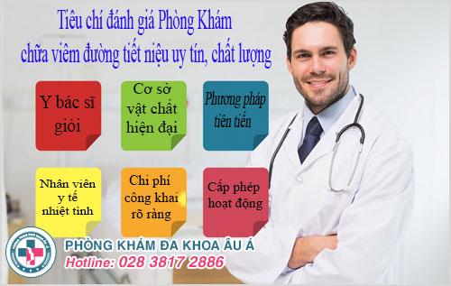 Địa chỉ khám chữa viêm đường tiết niệu tại Vũng Tàu