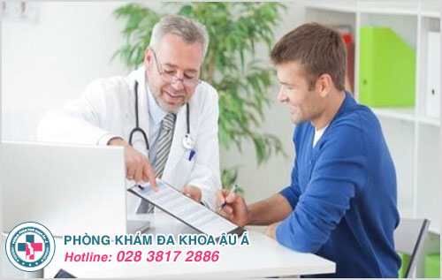 Thăm khám bác sĩ là cách giúp nam giới sớm điều trị mang lại hiệu quả cao