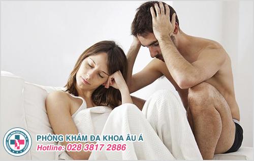 Nam giới mắc chứng dương vật không thể cứng làm cho đời sống vợ chồng không được như ý