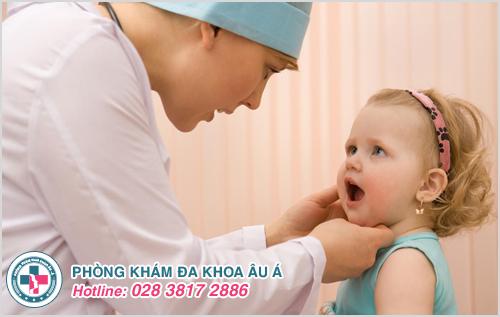 Hình ảnh lang ben ở trẻ sơ sinh trẻ nhỏ