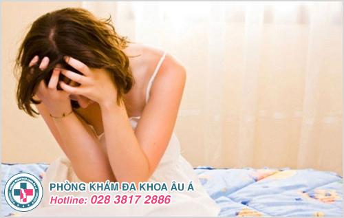Hình ảnh mụn nước ở bộ phận sinh dục nữ