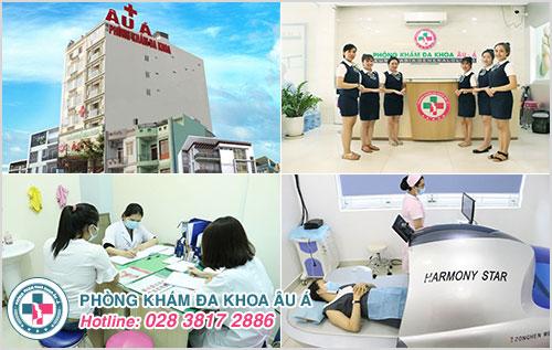 Phòng Khám Âu Á chuyên khám và điều trị các bệnh phụ khoa an toàn - hiệu quả - chi phí bình dân