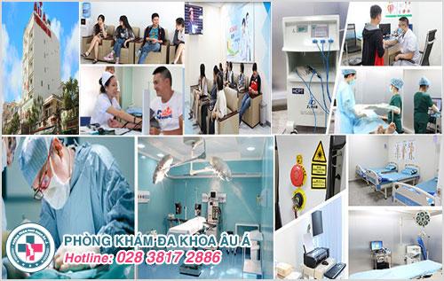 Phòng Khám Đa Khoa Âu Á - xứng đáng là một cơ sở y tế uy tín - theo tiêu chuẩn quốc tế