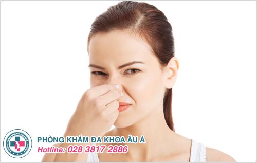 Kinh nguyệt có mùi hôi thối là triệu chứng bệnh gì ?