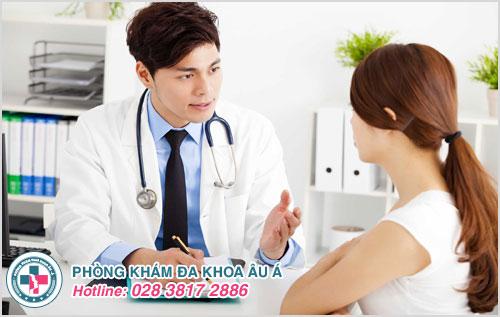 Nên thăm khám và điều trị tại Âu Á sẽ giúp hết đau rát hậu môn nhanh chóng