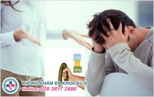 Tâm lý căng thẳng, lo âu gây ra bệnh liệt dương