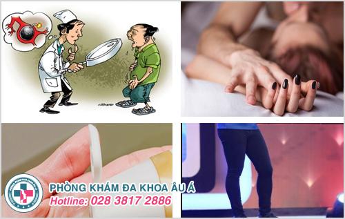 Một số bệnh về viêm nhiễm bộ phận sinh dục nam