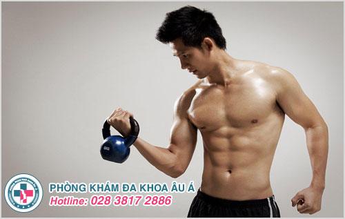 Nam giới tập thể dục mỗi ngày nâng cao sức khỏe sinh sản