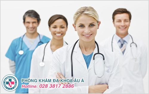 Với đội ngũ bác sĩ chuyên khoa lành nghề, Phòng Khám Đa Khoa Âu Á chính là lựa chọn đúng đắn nhất