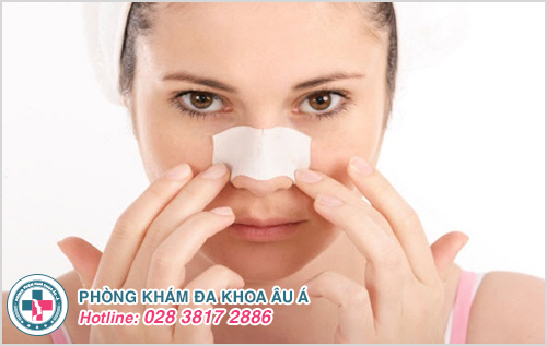 Mụn đỏ ở mũi: Hình ảnh nguyên nhân dấu hiệu cách chữa