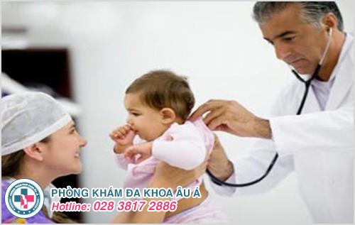Mụn mủ ở trẻ sơ sinh : Hình ảnh nguyên nhân dấu hiệu cách trị