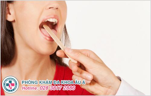 Mụn nước dưới lưỡi: Hình ảnh nguyên nhân biểu hiện cách chữa