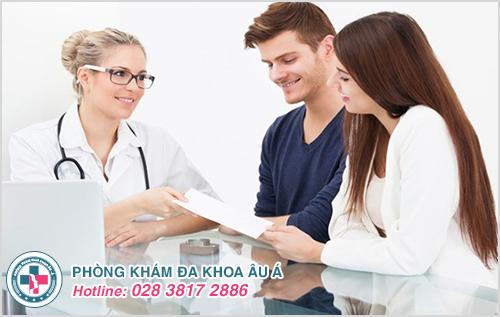 Hãy tới gặp bác sĩ để được tư vấn và hỗ trợ điều trị kịp thời