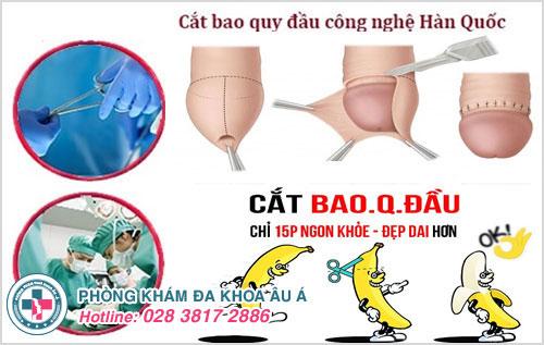 Điều trị thành công cắt bao quy đầu theo công nghệ Hàn Quốc tại Phòng Khám Đa Khoa Âu Á