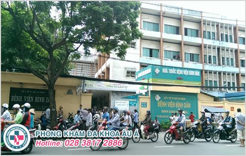 Chi phí khám nam khoa tại nam khoa bệnh viện Bình Dân