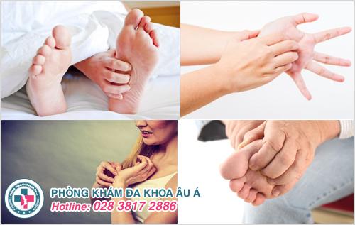 Ngứa lòng bàn tay bàn chân : Nguyên nhân dấu hiệu cách chữa