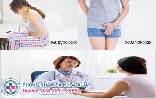 Ngứa vùng kín và đau bụng dưới ở phụ nữ là bệnh gì?