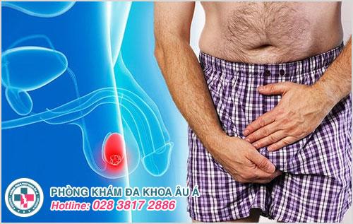 Nguyên nhân cương lâu đau tinh hoàn ở nam giới