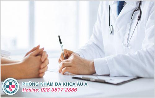 Thăm khám để xác định chính xác tình trạng bệnh