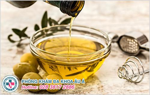Điều trị bệnh chốc mép bằng dầu oliu